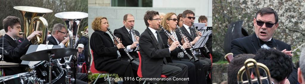 St Enda's 1916 concert composite