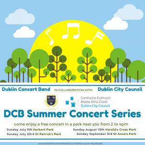 DCB Summer series Poster