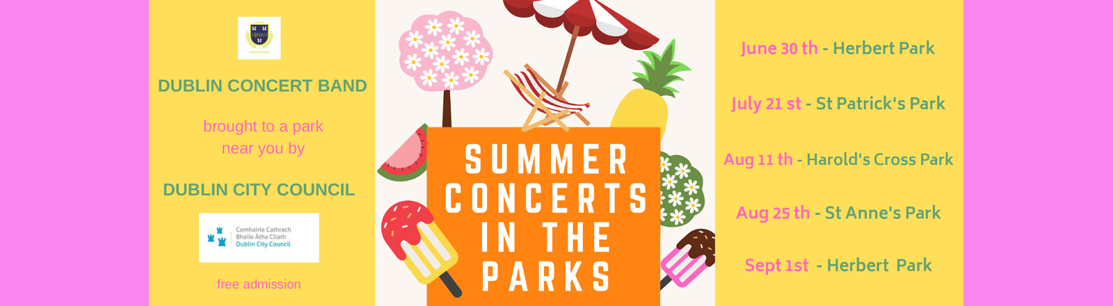 summer concerts series 2019