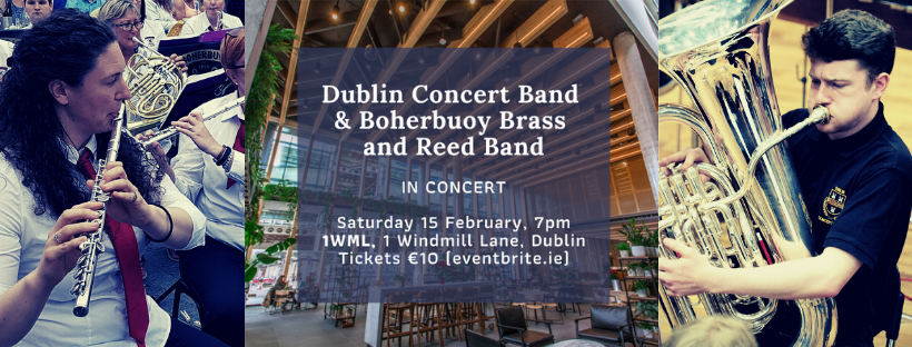 Joint concert DCB & Boherbuoy Brass & Reed Band